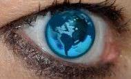 merged world eye stamped