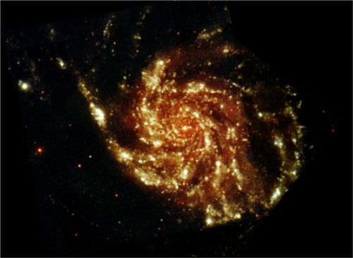 La inmensidad del universo: la galaxia del Molinete
