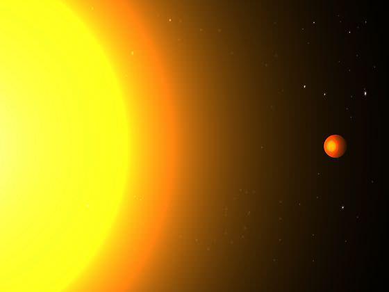 Curiosidades del espacio: un planeta muy rápido