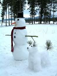 El orígen de los muñecos de nieve