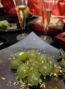 La tradición de las 12 uvas de Nochevieja