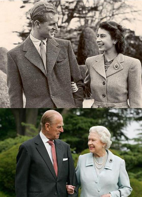 La bonita historia de amor entre la Reina Isabel II de Inglaterra y Felipe de Edimburgo
