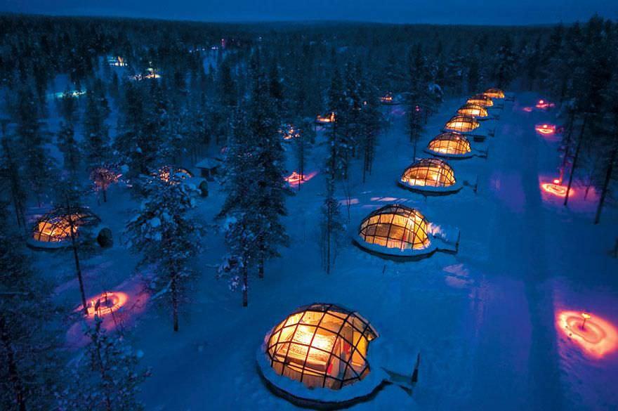 Los hoteles más increíbles del mundo