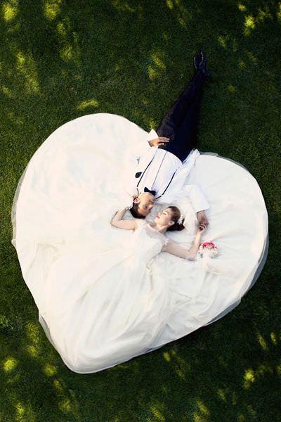 Fotos de boda muy originales