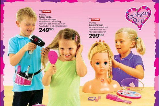 Anuncios de juguetes no sexistas