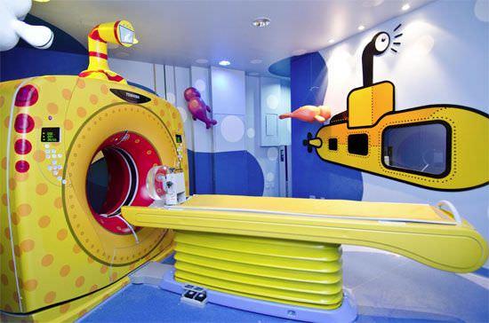 Fantásticas decoraciones de hospitales para niños | Guía Espiritualmente