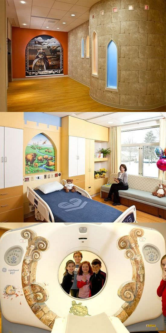 Fant sticas decoraciones de hospitales para ni os gu a for Decoraciones infantiles para ninos