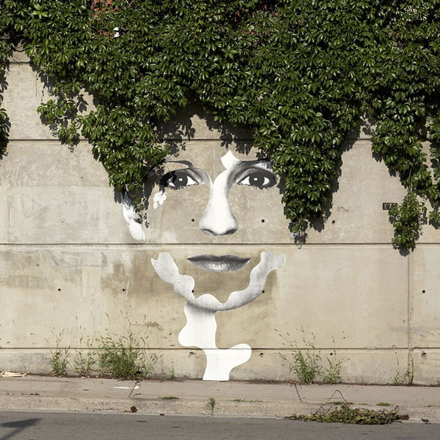 Obras de arte increíbles integradas en el entorno