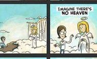 Canciones para el alma: Imagine de John Lennon en versión cómic
