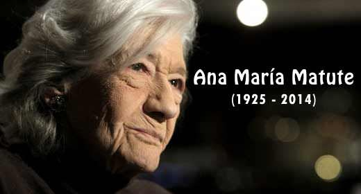 'discuss ana maría matute's use of Ana maría matute ausejo (26 july 1925 - 25 june 2014) was an internationally acclaimed spanish writer and member of the real academia española the third woman to receive the cervantes prize for her literary oeuvre, she is considered one of the foremost novelists of the posguerra.