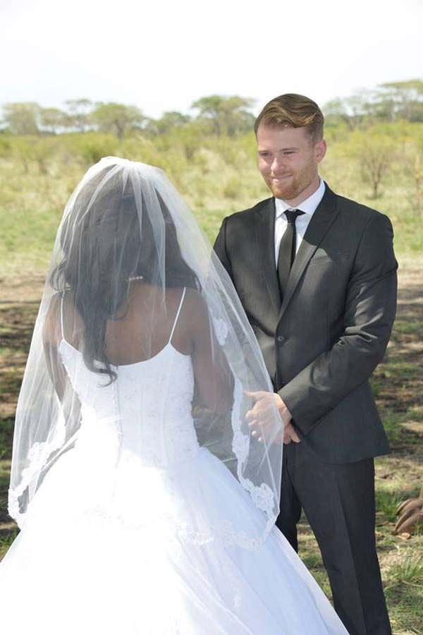 Una auténtica boda africana