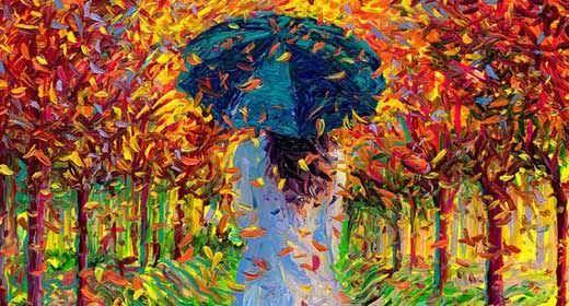 Asombrosos cuadros pintados con los dedos gu a - Los cuadros mas bonitos ...