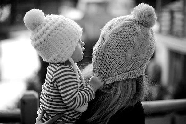 Como 2 gotas de agua: Divertidas fotos de madres y sus hijas