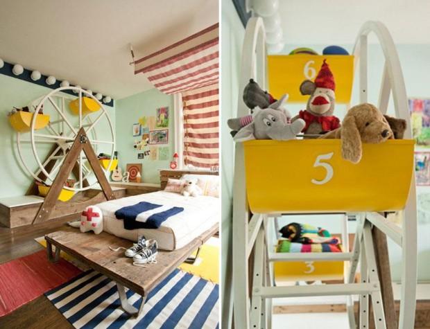 Dormitorios infantiles llenos de imaginación