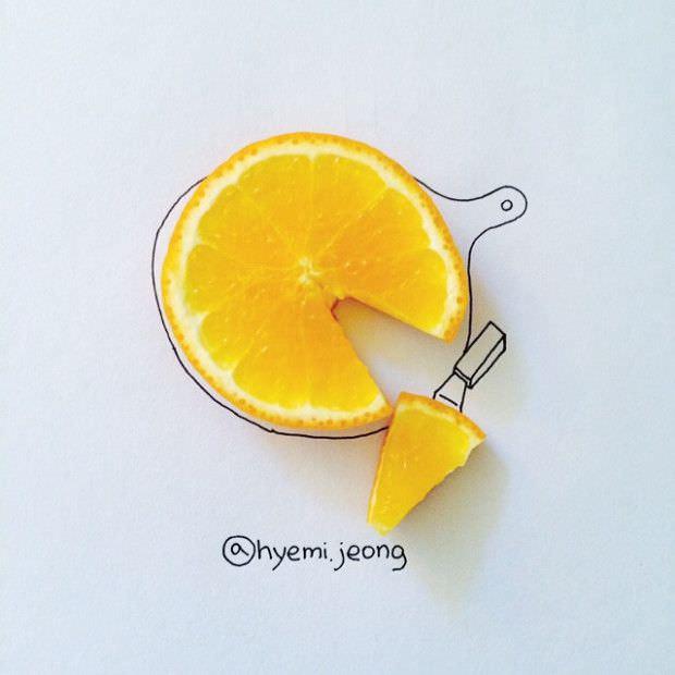 Ocio alternativo: arte con pequeños objetos cotidianos