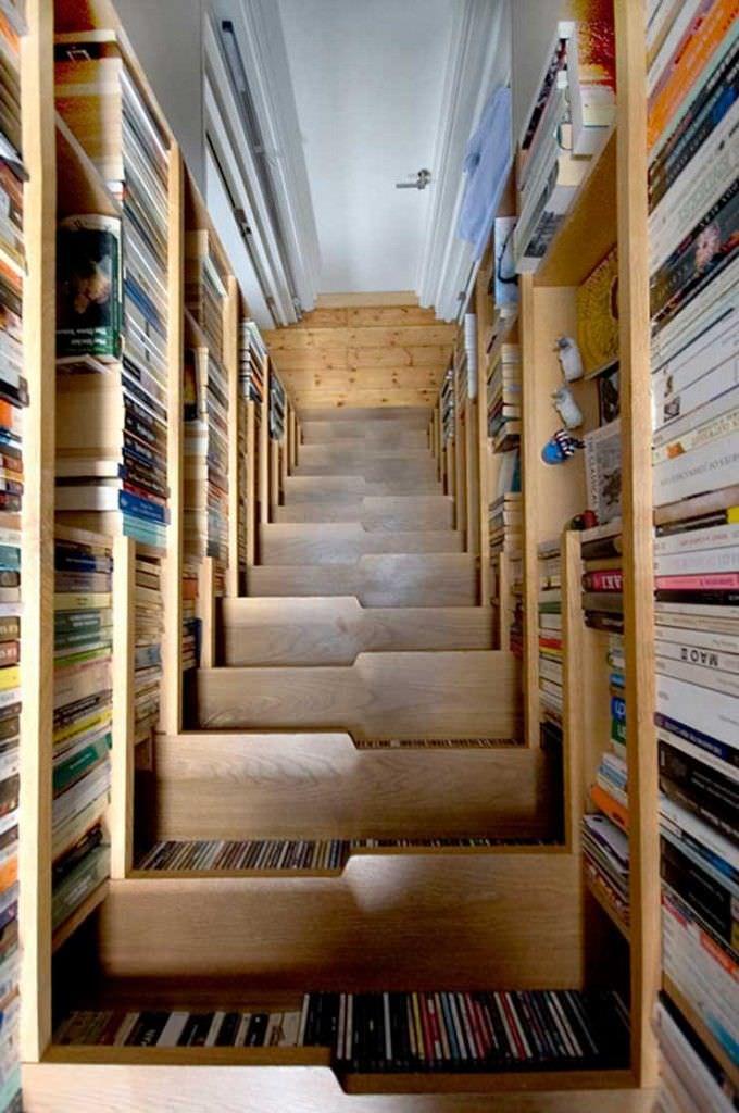 Estanterías y librerías originales para cultivar tu mente