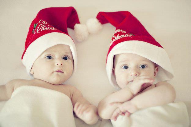 Fotografías de bebés que disfrutan a lo grande en Navidad 11