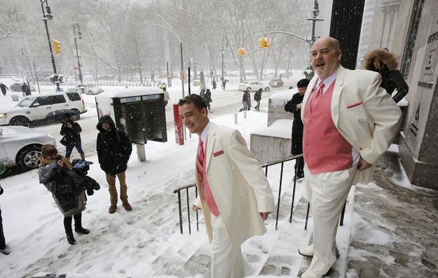 Las mejores fotos de bodas en invierno, en medio de la nieve 4