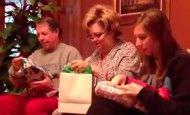 Esta familia recibe la mejor sorpresa de su vida en Navidad