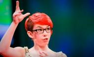 Esta joven autista nos da un gran ejemplo a todos con su gran discurso
