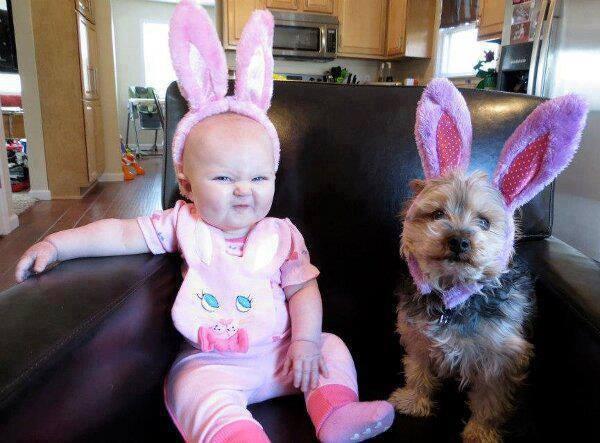 Las mejores fotografías de niños pequeños y sus mascotas 3