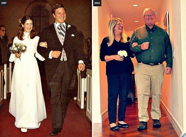 Estas parejas nos demuestran que hay amores para toda la vida 9