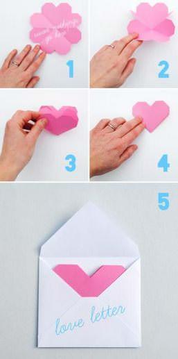 Ideas de tarjetas para San Valentín que puedes hacer tú mismo 1