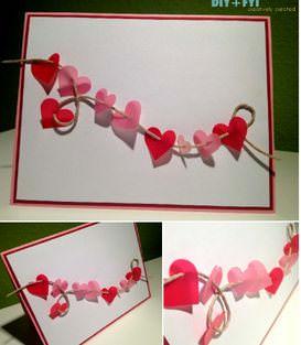 Ideas de tarjetas para San Valentín que puedes hacer tú mismo 2