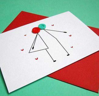 Ideas de tarjetas para San Valentín que puedes hacer tú mismo 4