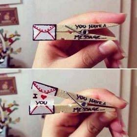 Ideas de tarjetas para San Valentín que puedes hacer tú mismo 5