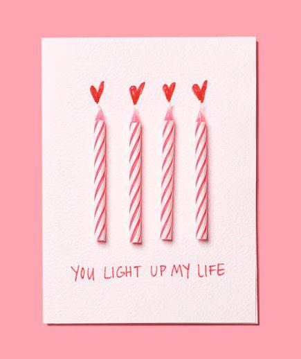 Ideas de tarjetas para San Valentín que puedes hacer tú mismo 7