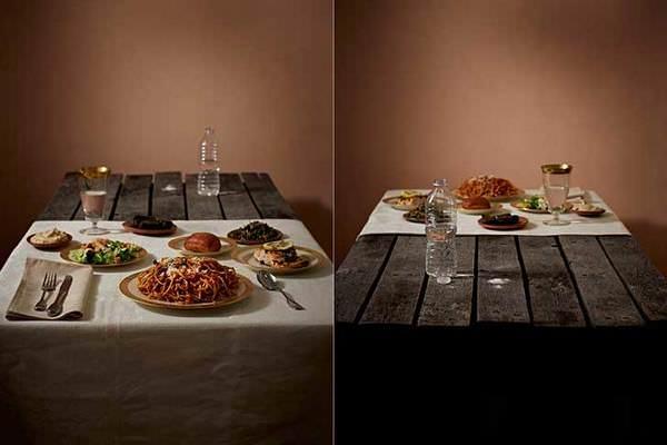 Las diferencias de la alimentación entre ricos y pobres - Siria act.