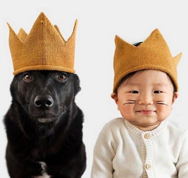Este niño y su mejor amigo no dejan de disfrazarse juntos 1