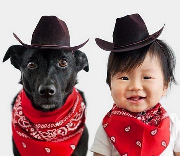 Este niño y su mejor amigo no dejan de disfrazarse juntos 10