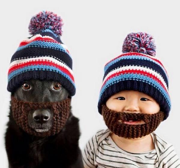 Este niño y su mejor amigo no dejan de disfrazarse juntos 3