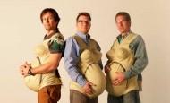 Estos hombres intentan ponerse en la piel de sus mujeres embarazadas