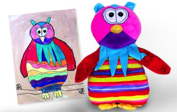 Estos niños ven cómo sus dibujos favoritos se convierten en peluches 14