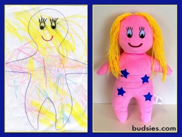 Estos niños ven cómo sus dibujos favoritos se convierten en peluches 7