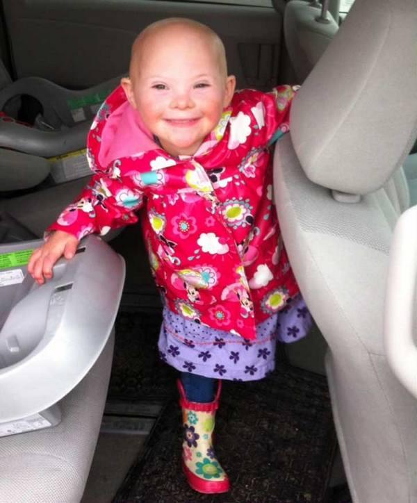 Fotos de personas con Síndrome de Down con sus sonrisas más puras 8