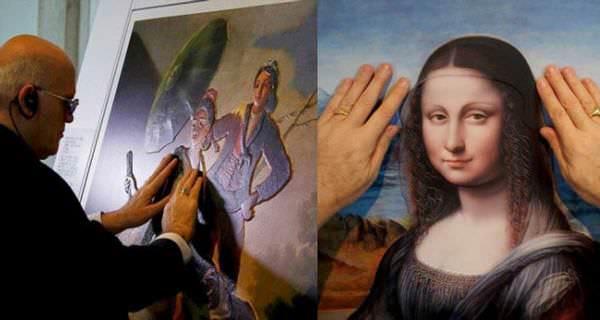Grandes obras de arte adaptadas para personas ciegas 2