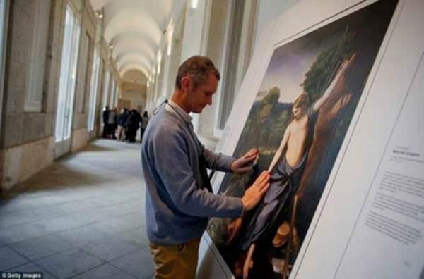 Grandes obras de arte adaptadas para personas ciegas 3