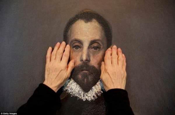 Grandes obras de arte adaptadas para personas ciegas 6