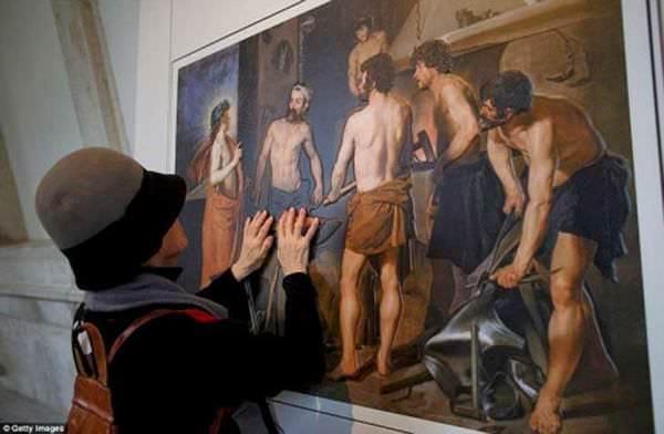 Grandes obras de arte adaptadas para personas ciegas 7