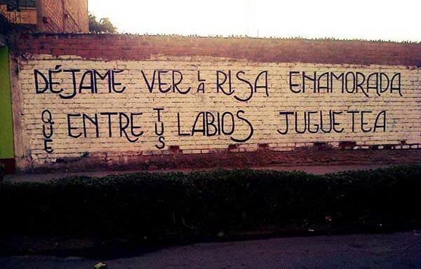 Las mejores frases de amor pintadas en las paredes 4
