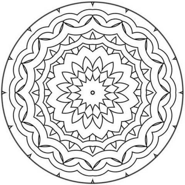 Los mandalas para la meditación y el bienestar 1