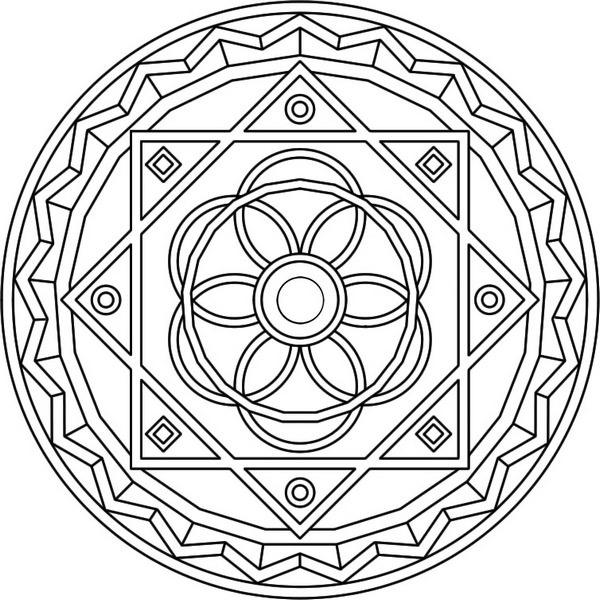 Los mandalas para la meditación y el bienestar 5