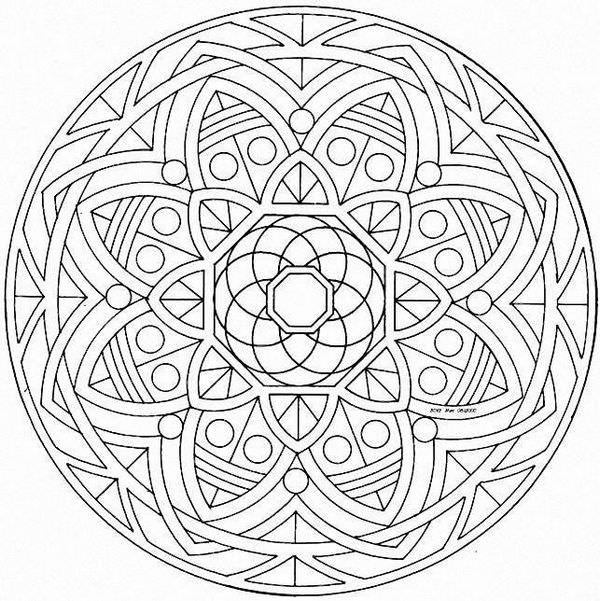 Los mandalas para la meditación y el bienestar 6