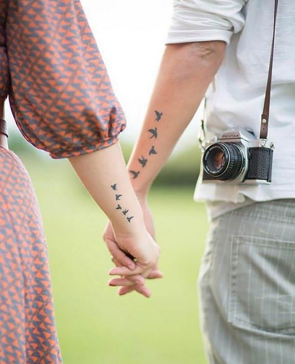 Los tatuajes de parejas más bonitos y originales 1