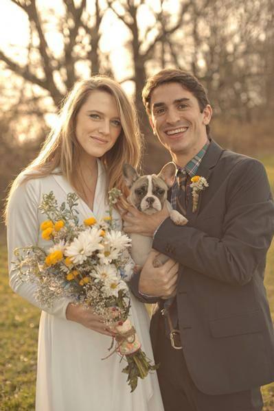 Mascotas fotografías de bodas con los novios y sus mascotas 2