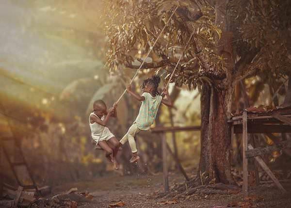 Niños jamaicanos disfrutan de su infancia y de la vida con lo poco que tienen 6